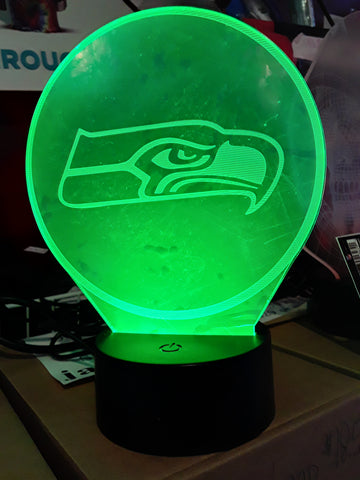 Seattle Seahawks Logo NFL LED Light