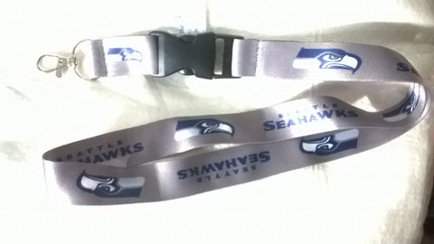 Seattle Seahawks Logo NFL Key Chain Lanyards Various Colors