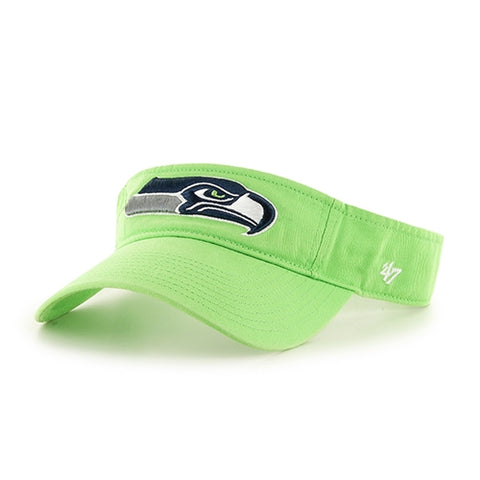 Seattle Seahawks NFL Lime Clean Up Adjustable Visor Hat 47