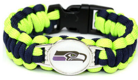 Seattle Seahawks NFL Paracord Bracelet