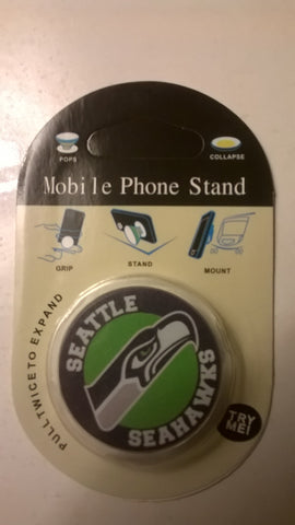 Seattle Seahawks NFL Pop Socket Phone Stand / Holders