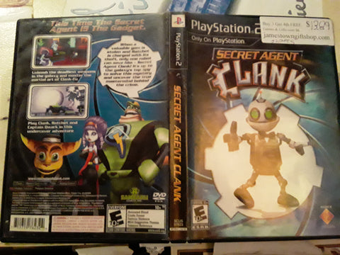 Secret Agent Clank USED PS2 Video Game