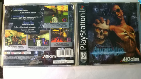 Shadow Man USED Playstation 1 Game
