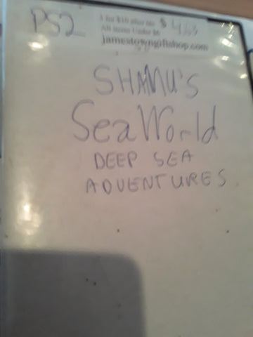 Shamu's Seaworld Deep Sea Adventures USED PS2 Video Game