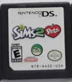 Sims 2 Pets Used Nintendo DS Video Game Cartridge