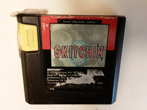 Skitchin' Used Sega Genesis Video Game