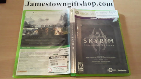 Skyrim Legendary Edition Used Xbox 360 Video Game