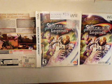 Soul Calibur Legends Used Nintendo Wii Video Game