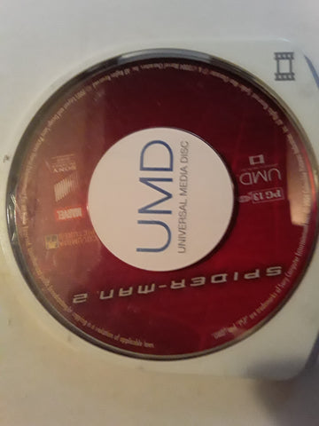 Spider-Man 2 Toby McGuire Kirsten Dunst PSP Used UMD VIDEO MOVIE
