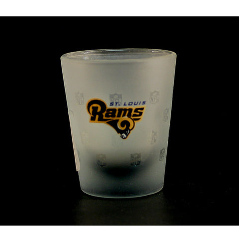 St. Louis Rams Frosted NFL Shot Glass
