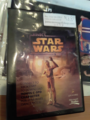 Star Wars Kinect Used Xbox 360 Video Game