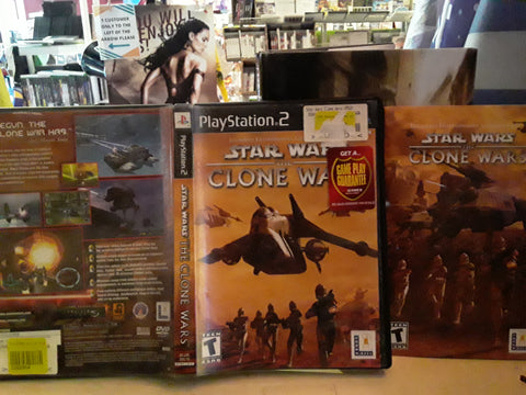 Star Wars Clone Wars USED PS2 Video Game