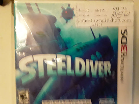Steel Diver BRAND NEW Nintendo 3DS Video Game