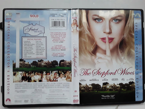 Stepford Wives DVD Movie Nicole Kidman Matthew Broderick Glenn Close