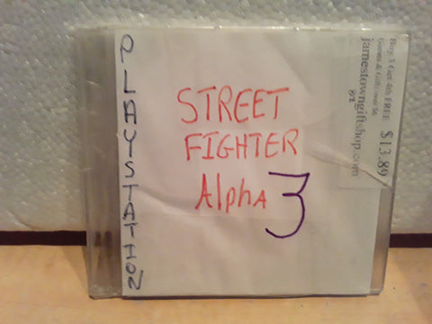Street Fighter Alpha 3 Used Playstation 1 Game