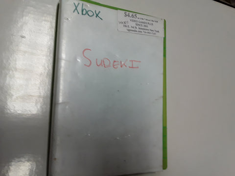 Sudeki Used Original Xbox Video Game