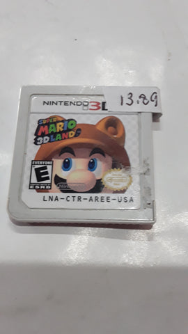 Super Mario 3D Land Used Nintendo 3DS Video Game