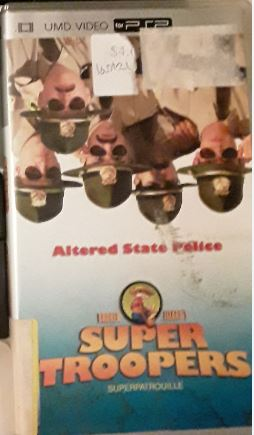 Super Troopers PSP Used UMD VIDEO MOVIE