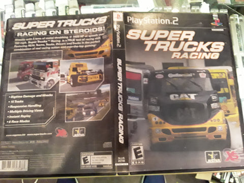 Super Trucks Racing USED PS2 Video Game