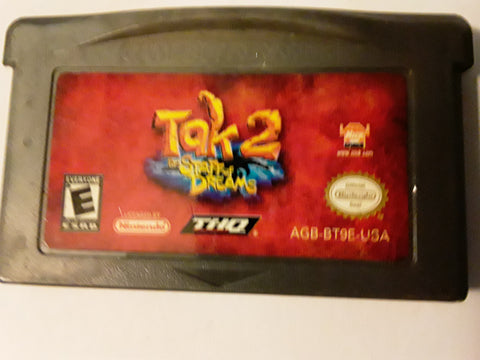 Tak 2 Staff of Dreams Used Gameboy Advance Game
