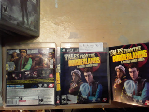 Tales From the Borderlands Telltale Games Used PS3 Video Game