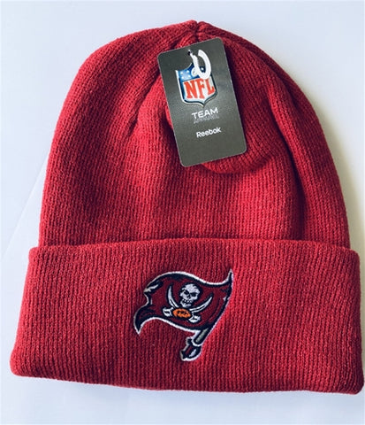 Tampa Bay Buccaneers NFL Red Cuffed Knit Hat