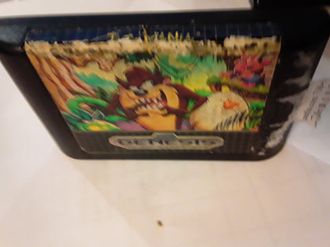 Taz-Mania Used Sega Genesis Video Game