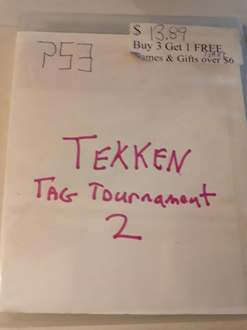 Tekken Tag Tournament 2 Used for PS3