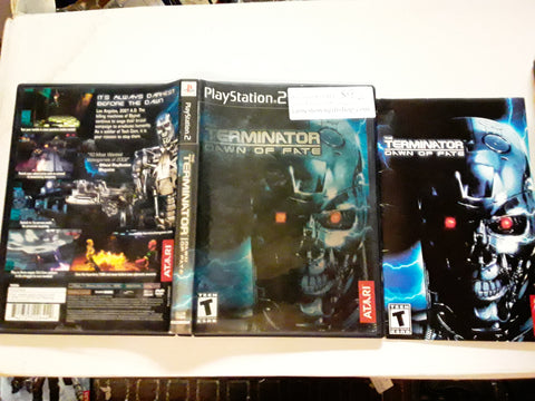 Terminator Dawn of Fate USED PS2 Video Game