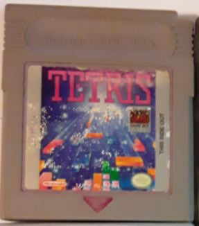 Tetris Used Gameboy Video Game Cartridge
