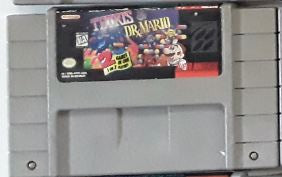 Tetris & Dr. Mario Used SNES Video Game