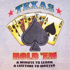 Texas Hold Em T-Shirt MEDIUM