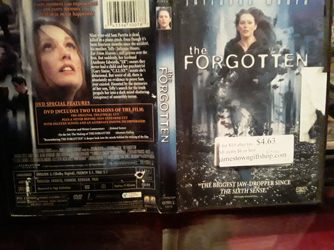 The Forgotten 2004 USED DVD MOVIE Julianne Moore