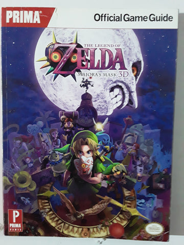 The Legend of Zelda: Majora's Mask 3D: Prima Official Game Guide Paperback Book