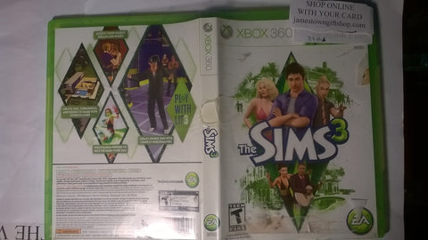The Sims 3  USED Xbox 360 Video Game