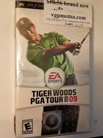 Tiger Woods PGA Tour 09 Golf Video Game BRAND NEW
