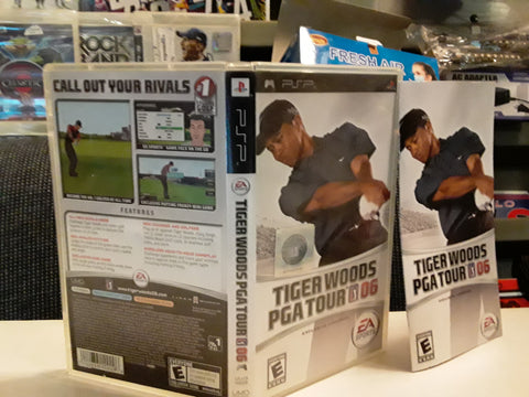 Tiger Woods PGA Tour Golf 06 PSP Used Video Game