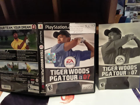 Tiger Woods PGA Tour Golf 07 2007 USED PS2 Video Game