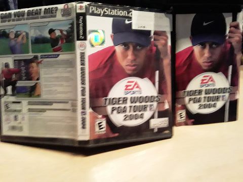 Tiger Woods PGA Tour Golf 2004 USED PS2 Video Game