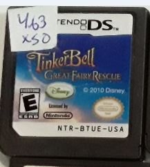 Tinkerbell Great Fairy Rescue Used Nintendo DS Game