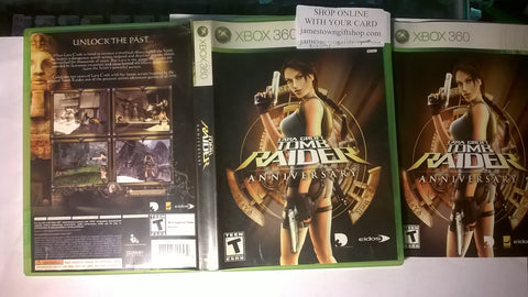 Tomb Raider Anniversary USED for Xbox 360 Video Game