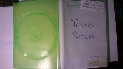 Tomb Raider USED for Xbox 360 NO COVER ART