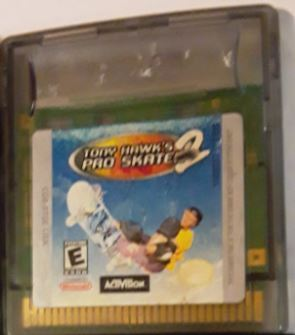 Tony Hawk's Pro Skater 2 Gameboy Color Video Game Cartridge