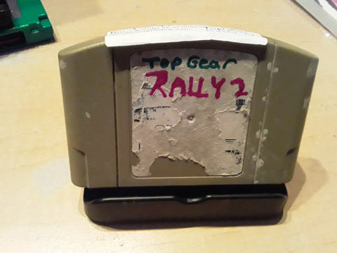 Top Gear Rally 2 Racing Used N64 Video Game