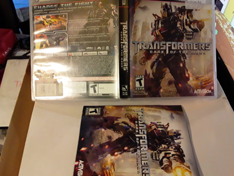 Transformers Dark of the Moon PS3 Video Game