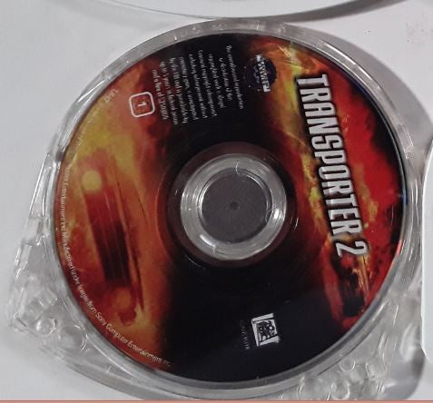 Transporter 2 Jason Statham Used PSP UMD Video Movie