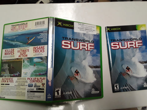 Transworld Surf Used Original Xbox Video Game