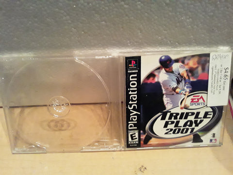 Triple Play 2001 MLB Baseball Used Playstation 1 Game