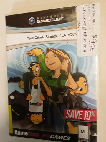 True Crime Streets of L.A. Used Nintendo Gamecube Video Game