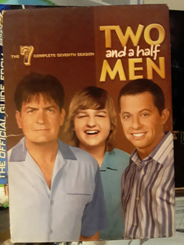 Two and a Half Men 7 Complete Seventh Season Used DVD Movie